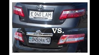 Сравнение Camry 40 vs Camry 45 - 1 Minute Story NS
